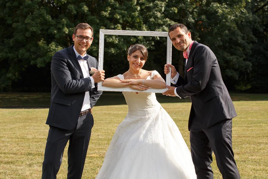 cadre du château de Cambrai photos de mariages