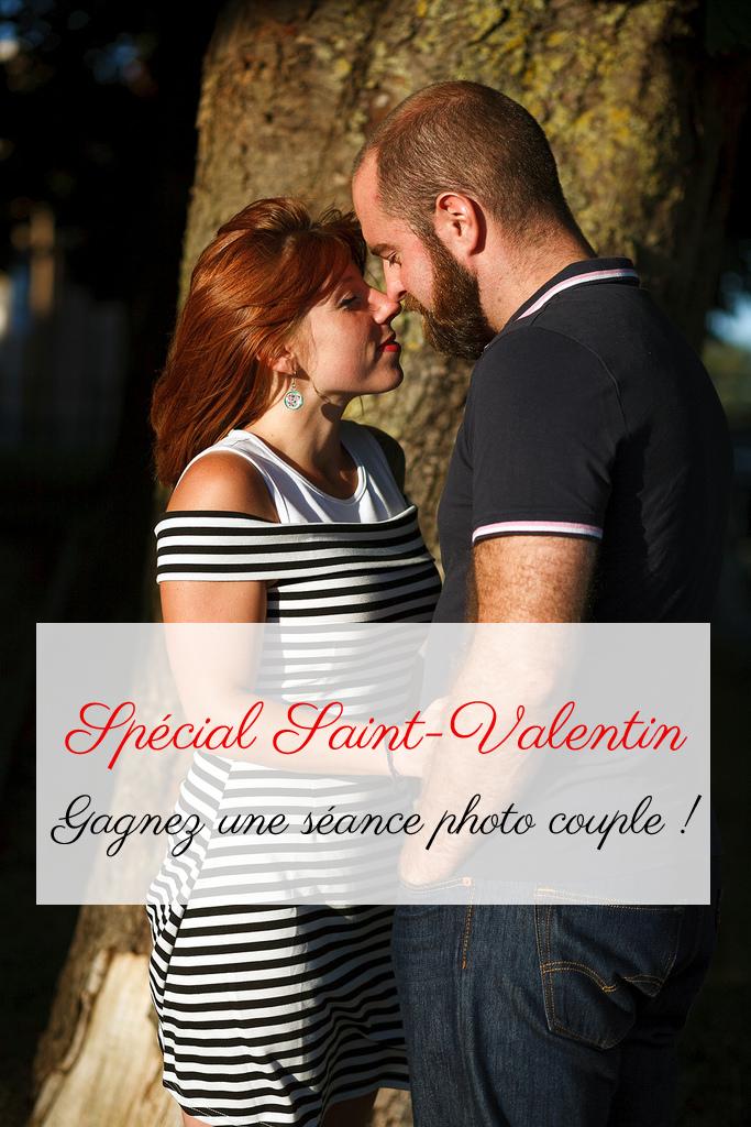 séance photo couple Saint-Valentin à gagner