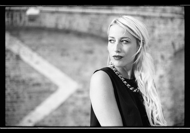 Portrait noir et blanc sur pellicule argentique Lille