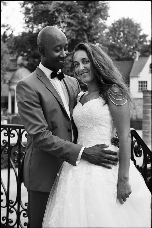Day After romantique à Bruges Belgique photo noir et blanc photographe mariage Lille Nord Belgique