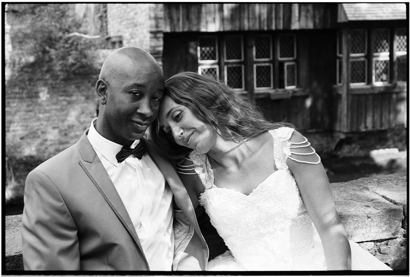 séance Day After romantique photo noir et blanc Bruges Belgique Fred Laurent photographe mariage portrait