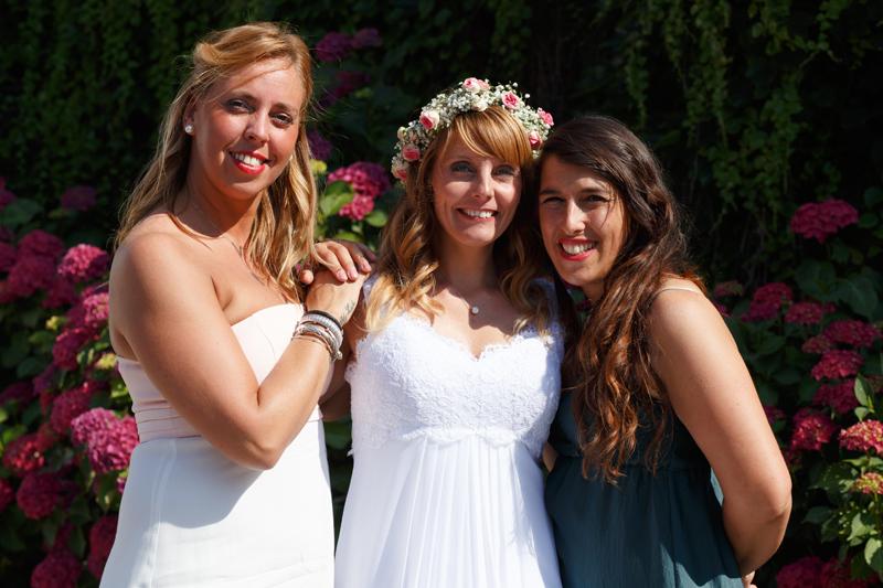 timing photos de groupe mariage