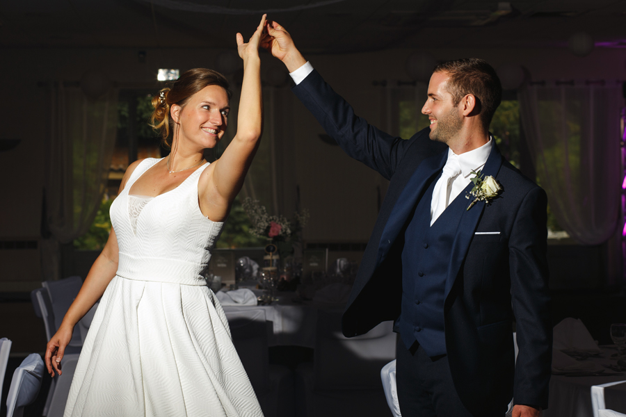 danse des mariés salle de reception mariage Cambrai