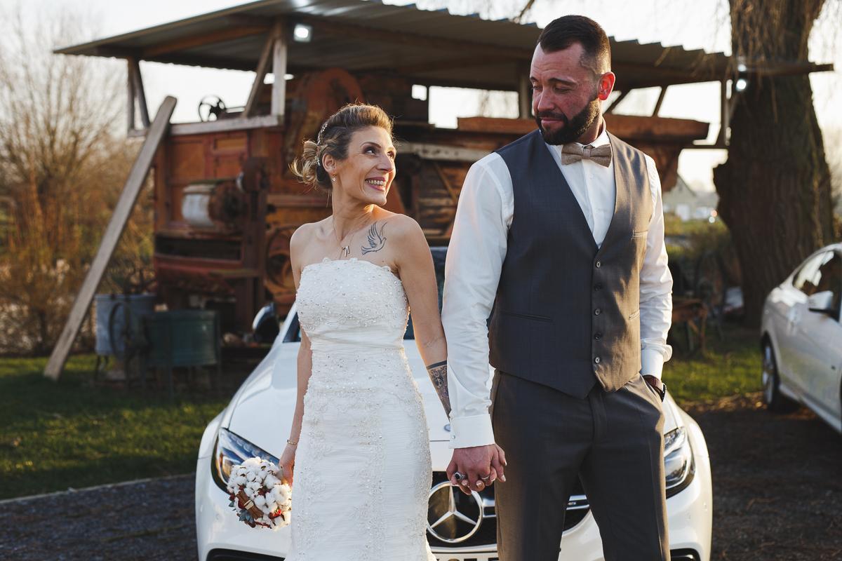 Mariage d'hiver à Bailleul et Steenwerck
