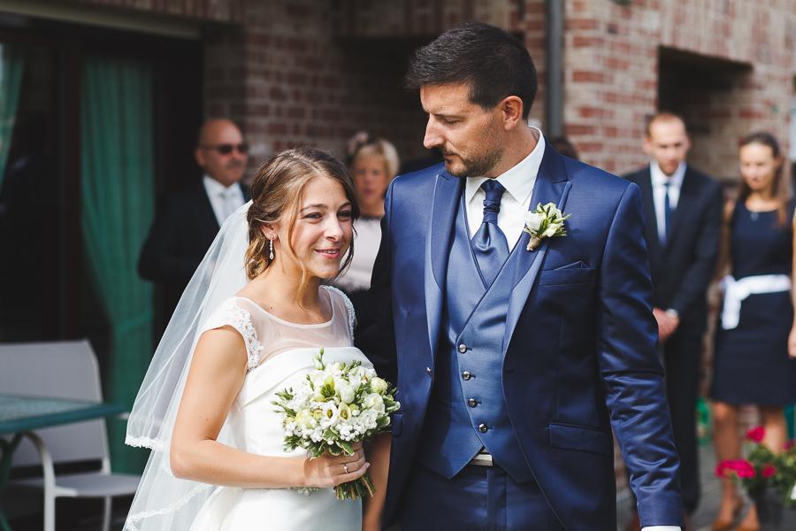 portrait du couple avant cérémonies photographe mariage Nord Comines Roncq Bondues