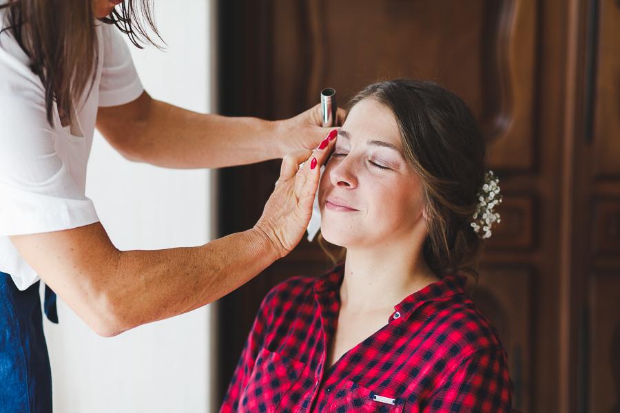 préparatifs de la mariée photographe mariage Nord Lille Comines Belgique