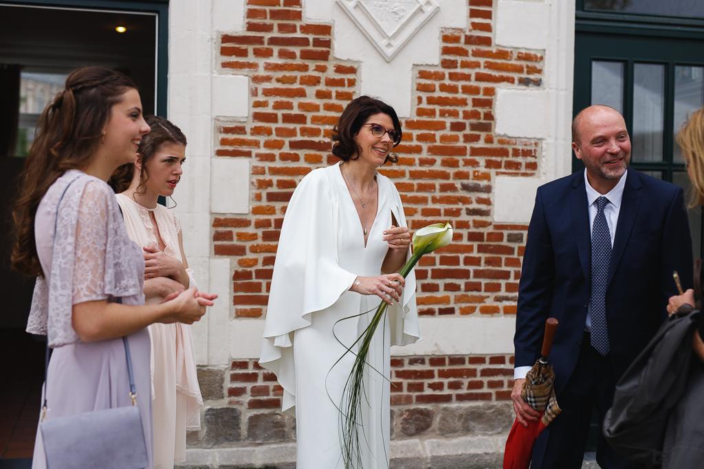 instant sur le vif couple et invités Wambrechies Nord France