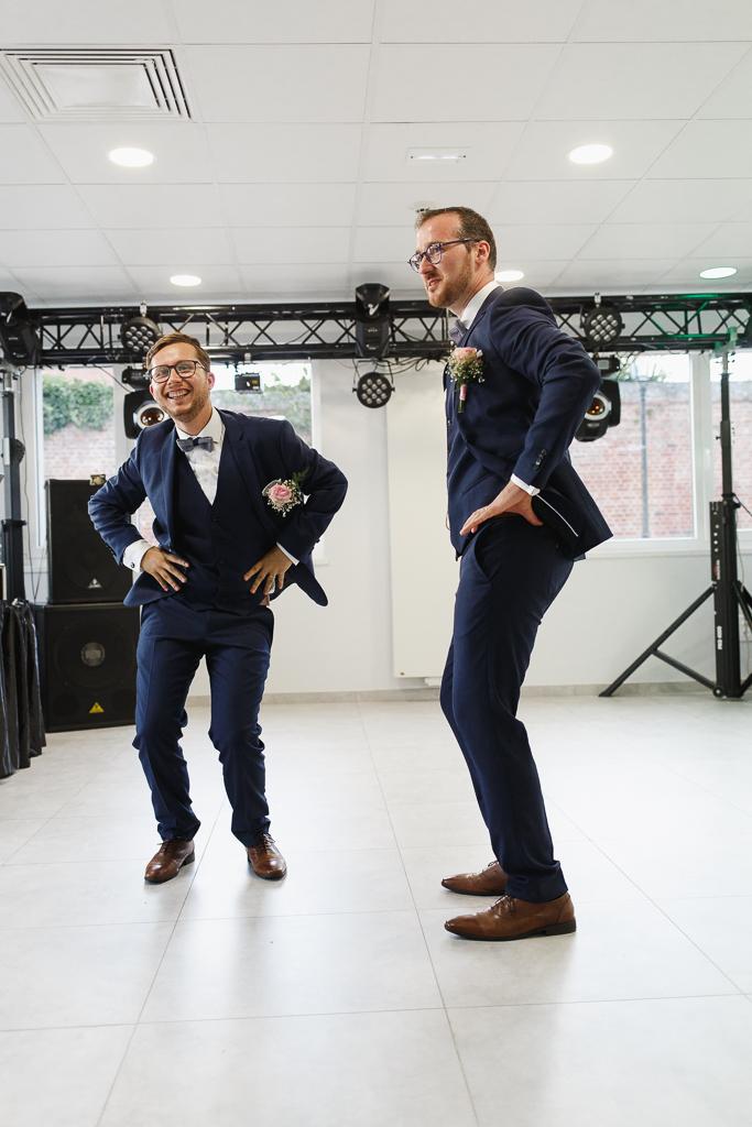 animation mariage mariés dansent