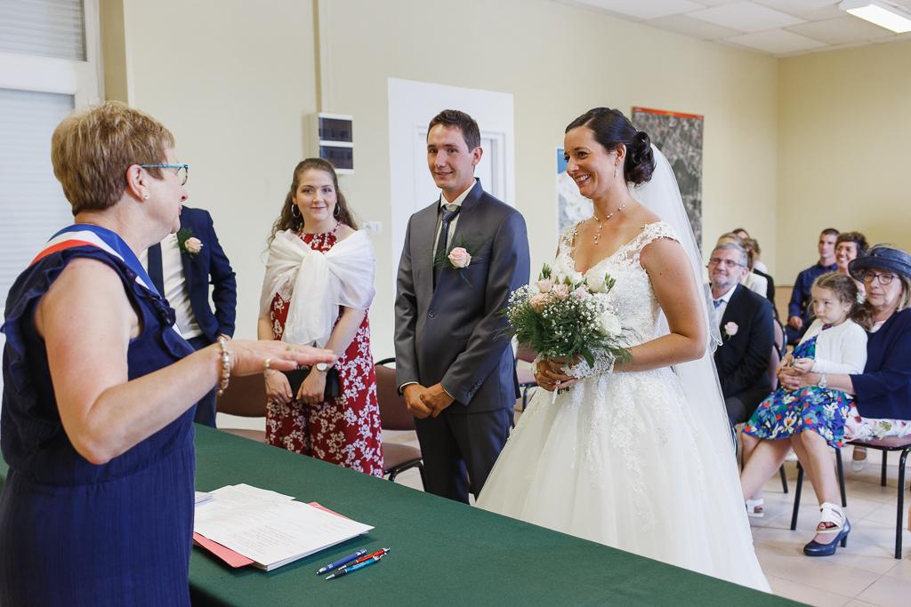 cérémonie civile reportage mariage à Licques