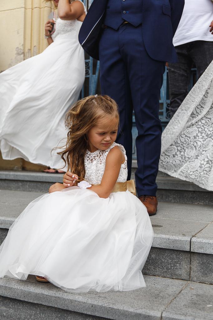 coup de vent dans robes blanches scène mariage civil Hauts de France