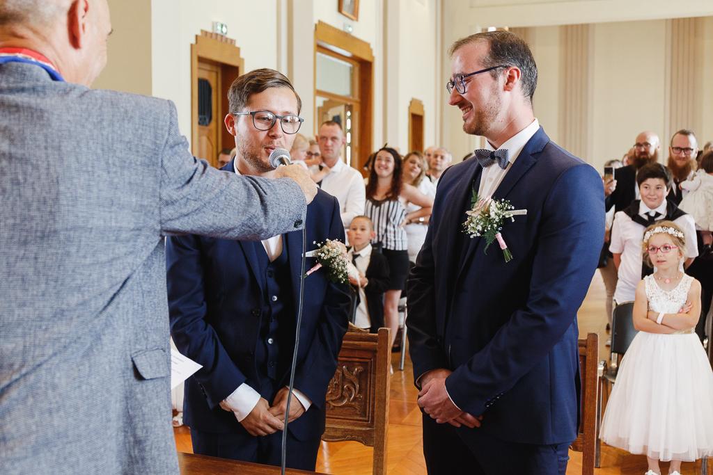 échange des vœux mariage Aulnoye-Aymeries Hauts de France