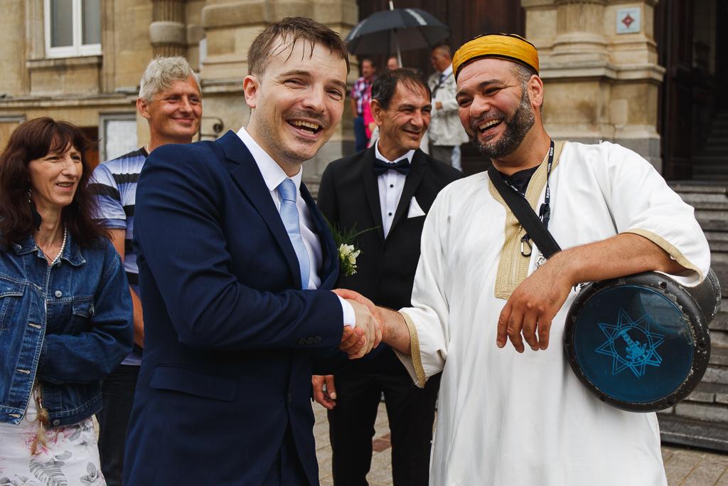 marié et percussioniste darbouka mariage Tourcoing Nord