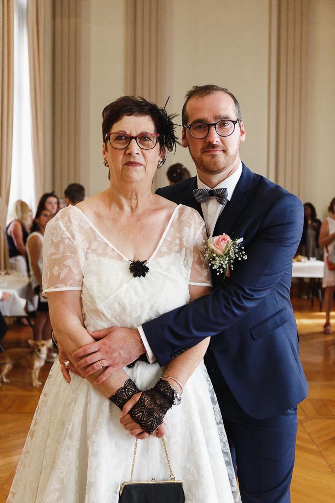 mère et fils photographe mariage portrait famille Hauts de France