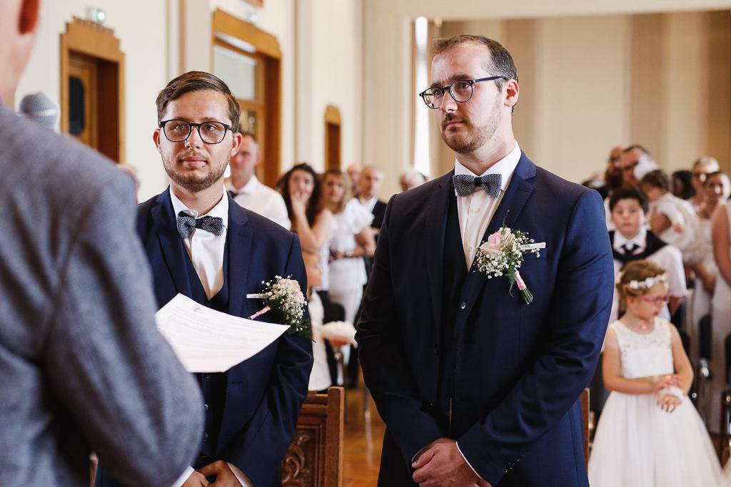 mariés devant le maire cérémonie civile Aulnoye-Aymeries