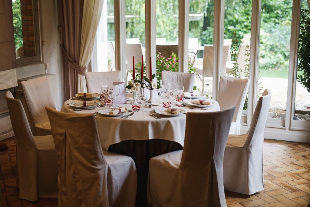 salle réception avec vue sur terrasse mariage Marcq en Barœul Lille Nord