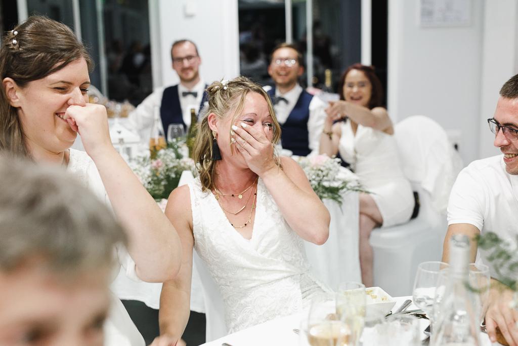 soirée mariage Château de la Marlière Hauts de France fou rire des invités