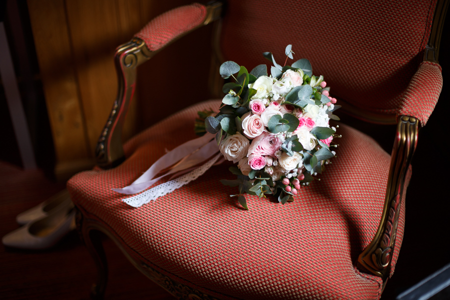 bouquet mariée hermitage gantois