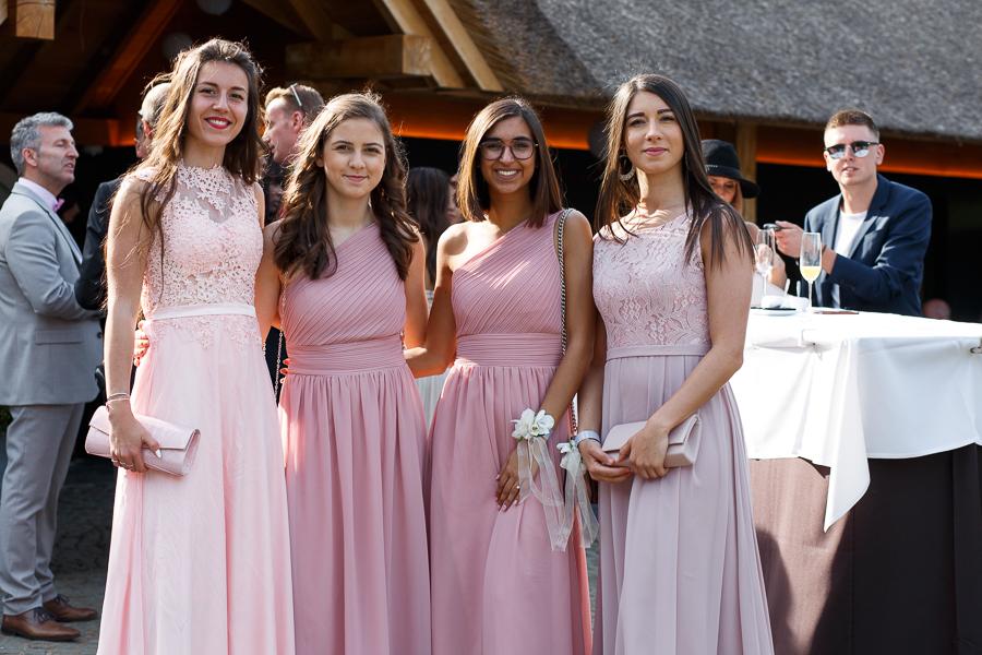 bridesmaids demoiselles d'honneur dress code rose photographe mariage Nord et Flandre belge
