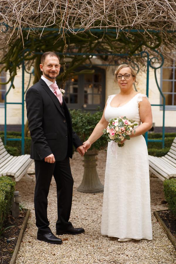 mariés jardin hermitage gantois lille mariage
