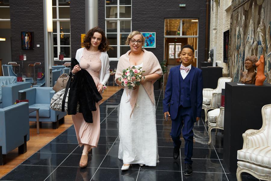 mariage Hermitage Gantois sortie hôtel
