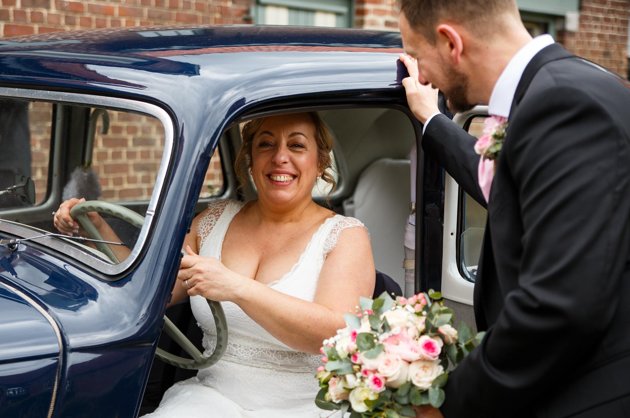 mariage champetre et traction ferme de ronceval