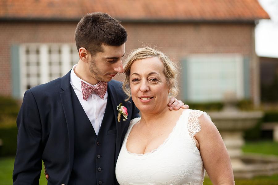 photographe portrait mariage mère fils