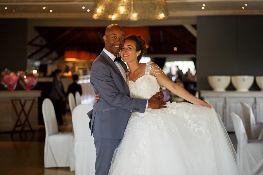 photo couple mariés salle réception mariage au Molenhof Fred Laurent photographe Nord Lille Flandres belge