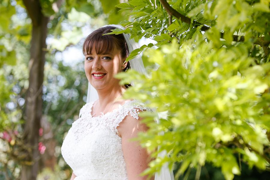 portrait de la mariée beautiful bride Nord Pas de Calais photographe mariage Hauts de France