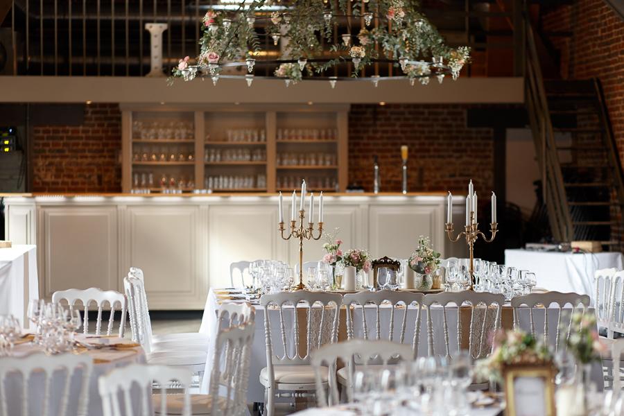 salle mariage ferme de Dottignies Belgique