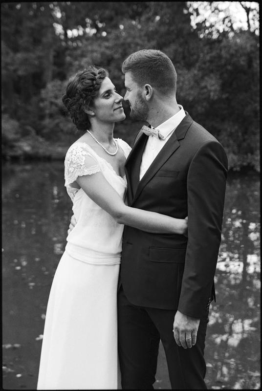 photo de mariage noir et blanc Cysoing photographe professionnel familles couples