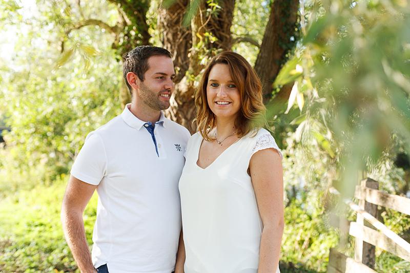 photo de couple futurs mariés séance engagement Lille