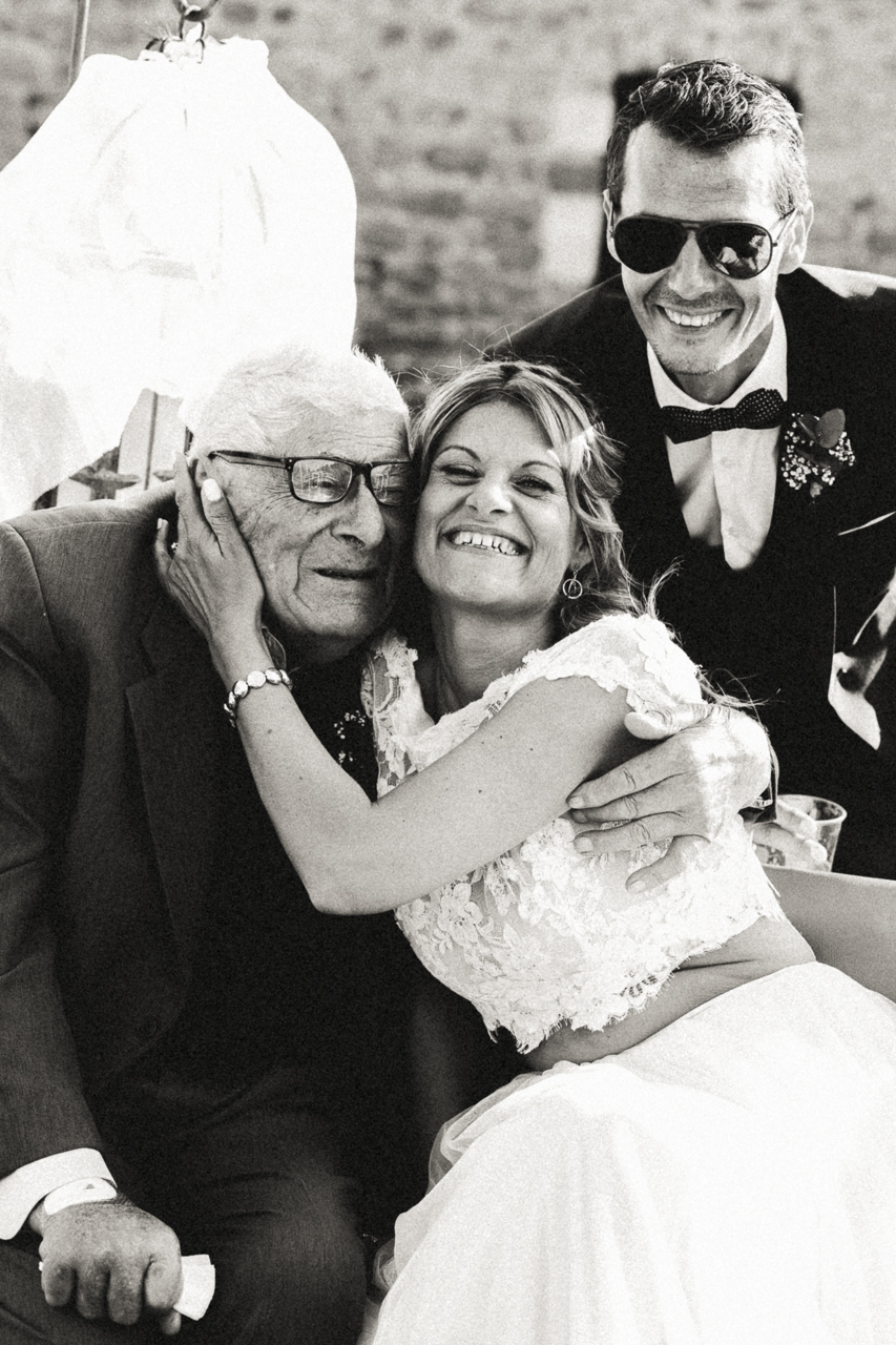 Des photos de réception de mariage en noir et blanc Photographe Nord
