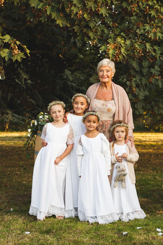 Photographe mariage Roncq dress code demoiselles d'honneur
