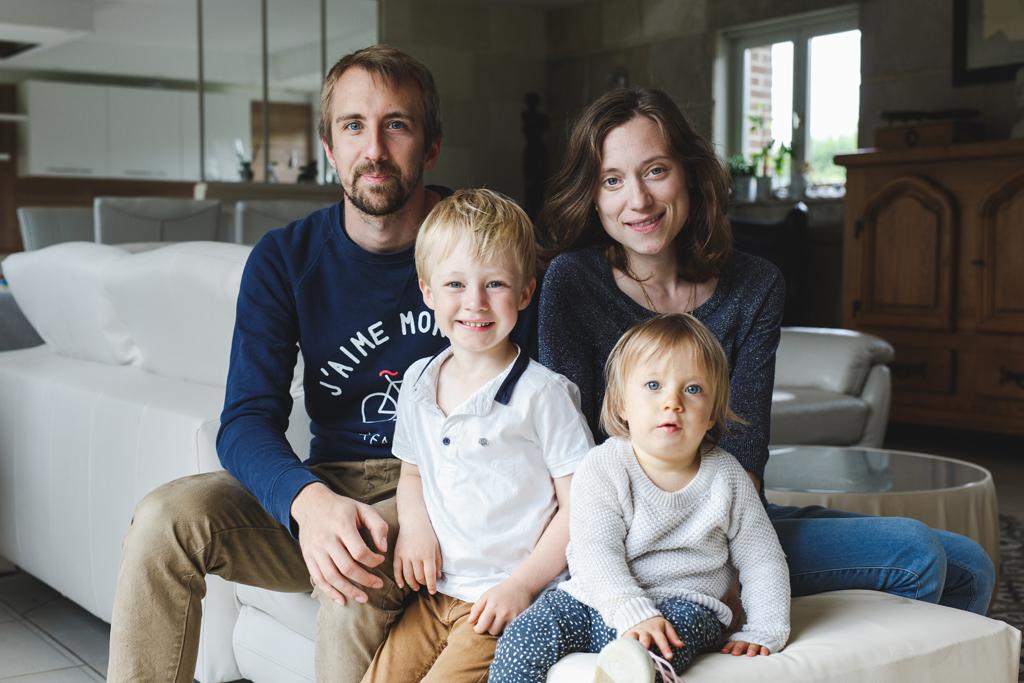 Photographe famille à domicile Marcq Roubaix Lille