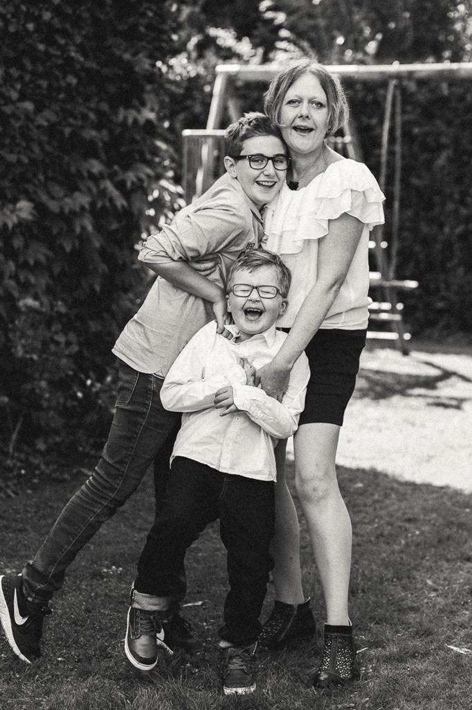 Photos de familles en noir et blanc Hauts de France