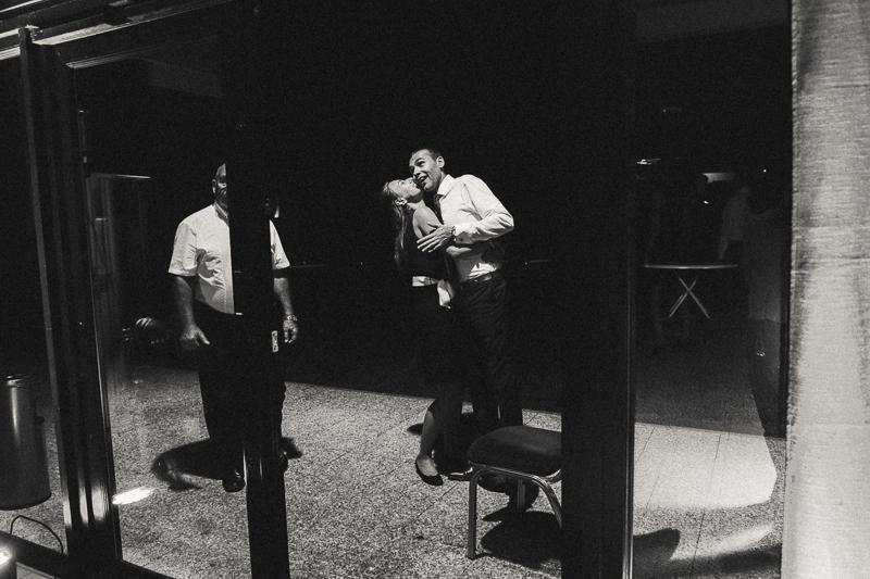 soirée mariage photo noir et blanc