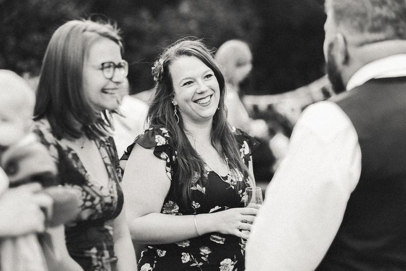réception de mariage en extérieur