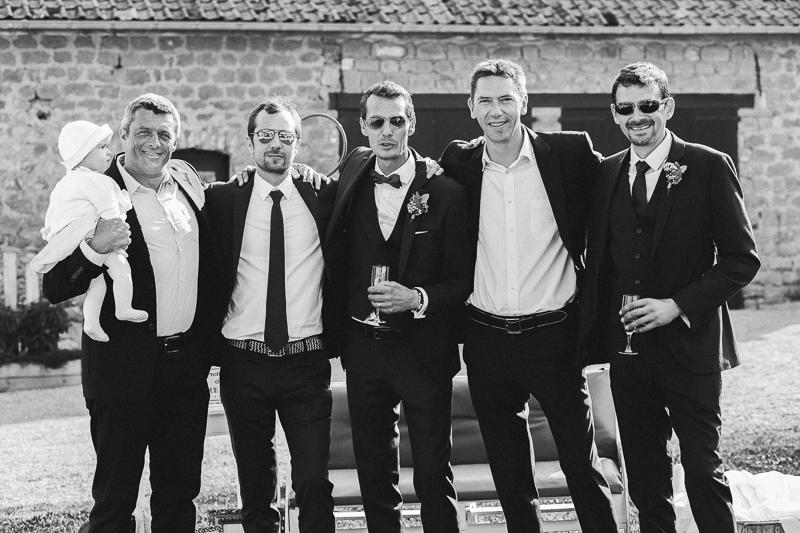 portrait groupe hommes photos de mariages