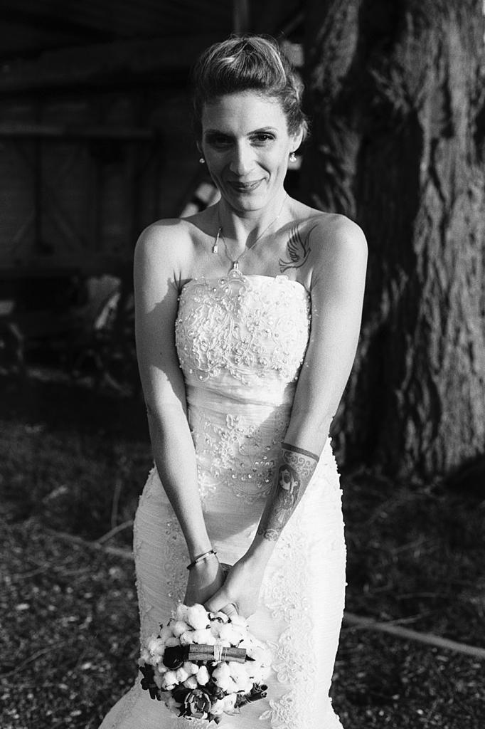 Portrait mariage Nord en noir et blanc sur pellicule argentique
